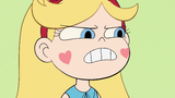 S2E30 Star Butterfly grits her teeth at Beanbag