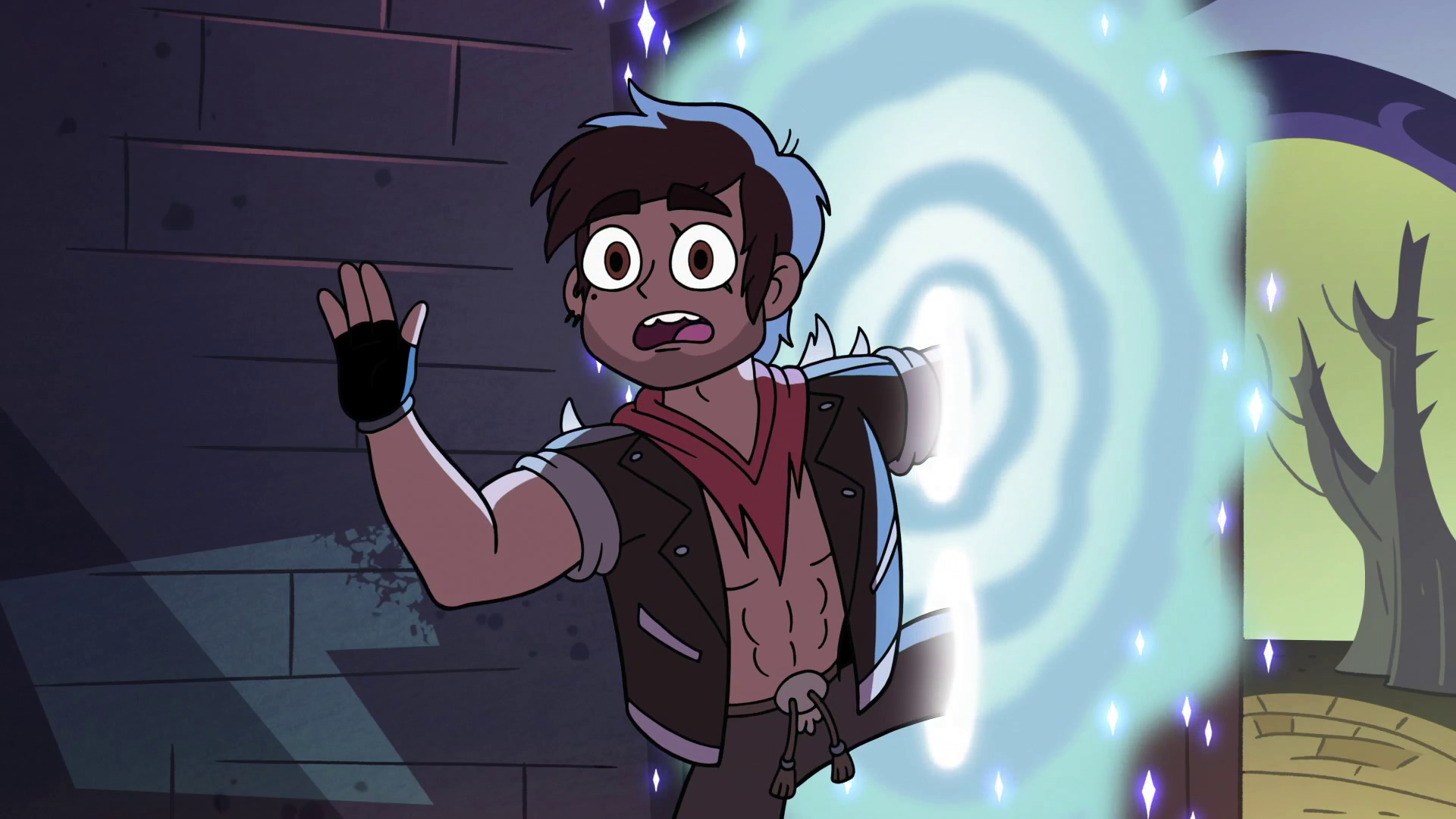 Imagen - S2E31 Adult Marco says goodbye to \'H-Poo\'.png | Star vs ...