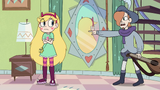 S2E40 Ruberiot points at Star Butterfly's reflection