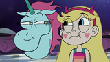 S2E33 Star and Pony Head smirking at each other