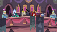 S2E40 Magic High Commission in the royal seating box
