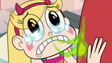 S2E33 Star Butterfly crying and dripping with snot