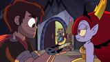 S2E31 Star Butterfly bursts into Hekapoo's forge