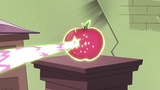 S2E30 Apple zapped by pink and green magic