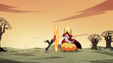 S2E31 Marco stumbles through Hekapoo's portal