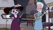 S4E3 Moon and Eclipsa rock out together
