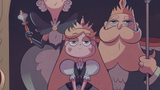 S2E30 Star Butterfly in royal family portrait
