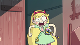 S2E31 Star Butterfly angrily enters Marco's room