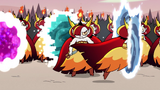 S2E31 One of Hekapoo's clones jumps into a portal