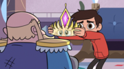 S3E4 Marco gives King River his crown