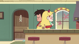S2E40 Star Butterfly and Marco Diaz hugging