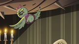 S2E40 Avarius' daughter flying away annoyed