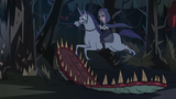 S2E40 Moon and warnicorn jump over flytrap monster