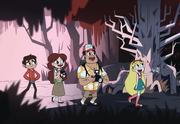 Bosque de la muerte inevitable
