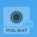 Polsat HD - żałobne logo