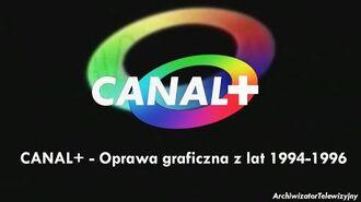 Canal+ - Oprawa graficzna z lat 1994-1996 (PL)
