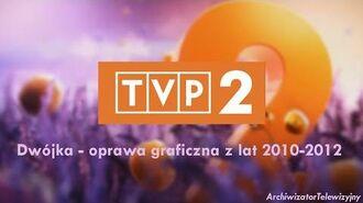 (TVP2) Program Drugi - Oprawa graficzna z lat 2010-2012