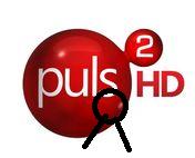 Puls 2 HD - żałobne logo