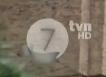 TVN 7 HD - żałobne logo