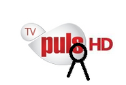 TV Puls HD - żałobne logo