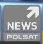 Polsat News - żałobne logo