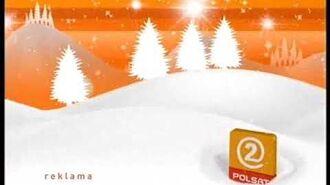 Polsat2 kompilacja świątecznych jingli 12 2008