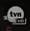 TVN HD - żałobne logo