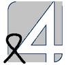 TV4 (żałobne logo)
