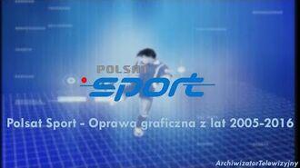 Polsat Sport - Oprawa graficzna z 2005-2016