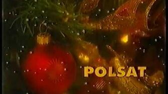 Świąteczny ident Polsatu - 12.2001r