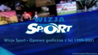 Wizja Sport - Oprawa graficzna z lat 1999-2001