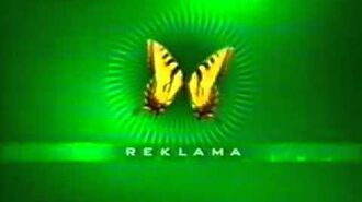 Polsat - Zielony jingiel reklamowy z lat 2002 roku (Z Motylem)