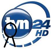 TVN 24 HD - żałobne logo