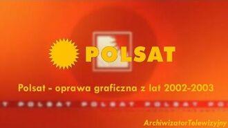 Polsat - oprawa graficzna (2002-2003)