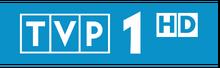 Logo TVP1 HD z lat 2012-obecnie