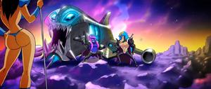 Starbarians' spaceship Teaser