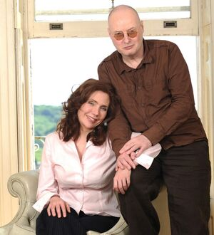 Erica Wexler and Andy Partridge