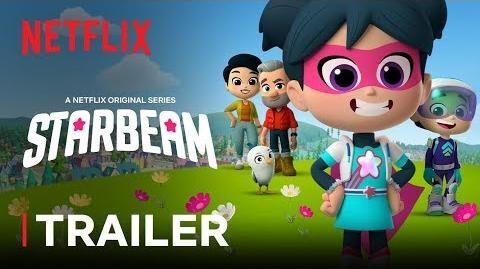 StarBeam New Series Trailer 🌟 Netflix Jr