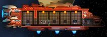 Hylotl tier 1 spaceship
