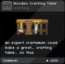 WoodenCraftingTable Infobox