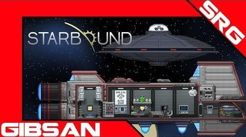 Starbound Beta Penguin UFO Re-Engage..!!
