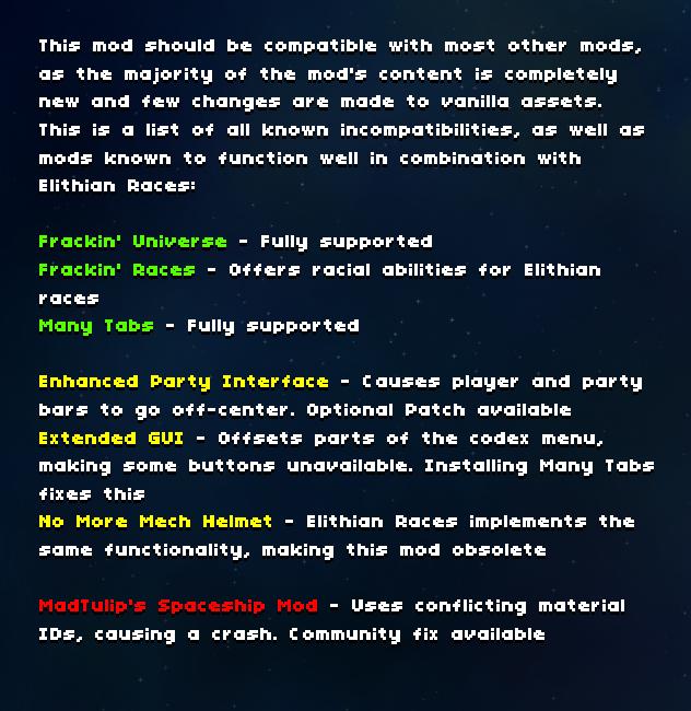 Starbound Elithian Races Mod Unofficial Wiki   FANDOM