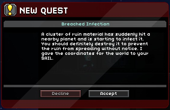 Breached Infection | Starbound Extended story mod Wiki