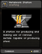 Metalwork Station