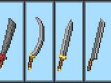 Создаваемые двуручные мечи
