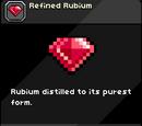 Refined Rubium