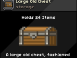 Large Old Chest