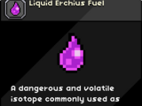 Liquid Erchius Fuel