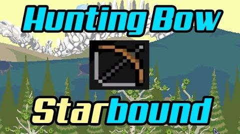 Weapons Hunting Bow - Starbound-0
