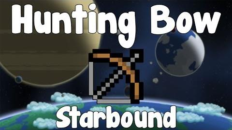 Hunting Bow - Starbound Guide - BETA-0